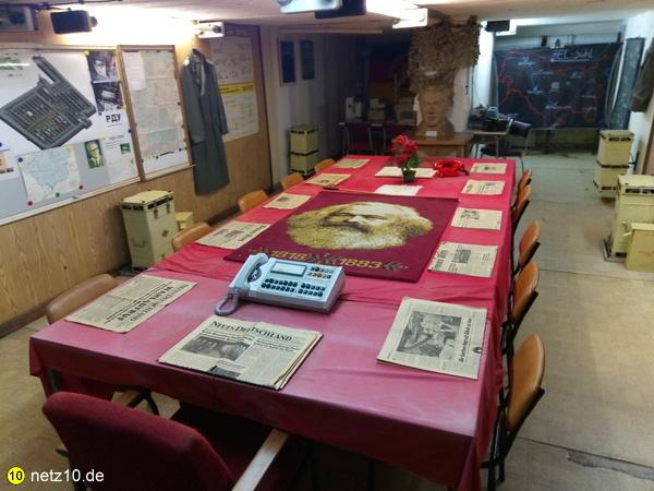 Bunker museum frauenwald stasi 1953 15