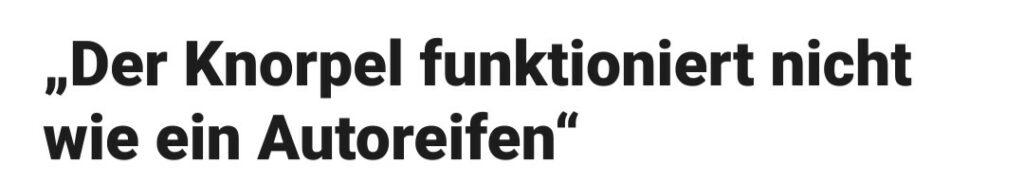 Knorpel-Autoreifen