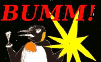 Silvester kein feuerwerk covid pinguin 2