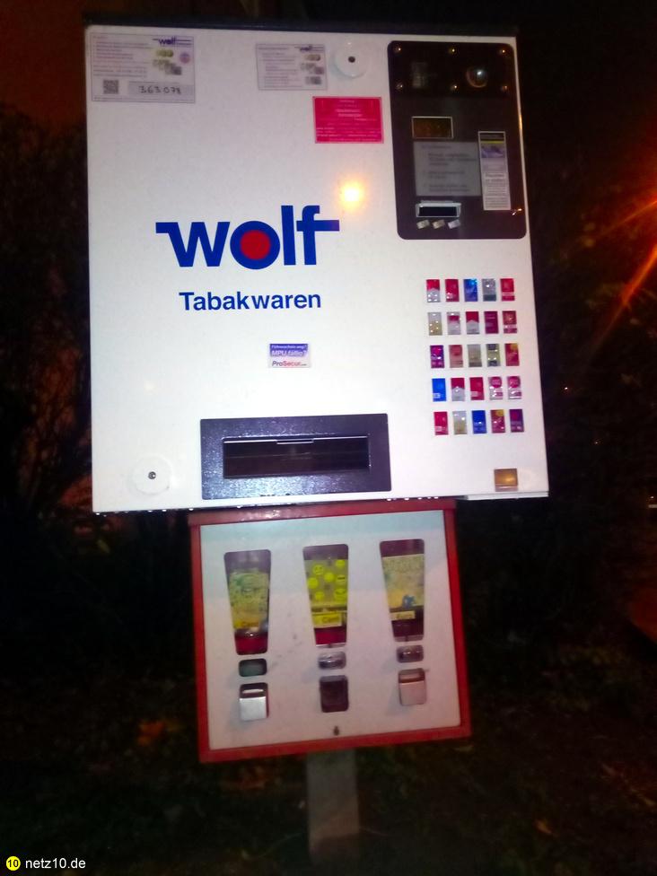 Automat zigaretten kaugummi nuernberg 1